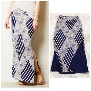 Anthropologie Maeve knit maxi skirt, size M